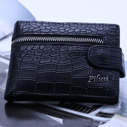 Wholesale Fashion Short Design Male wallet Gentle man Purse Leather Brand Men s Wallet Holder cover card coin purse