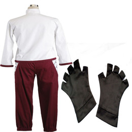 HOT Anime COS NARUTO Tenten Cosplay Costume Anime Ninja Cloth Girl Women Suit Customized Include Gloves