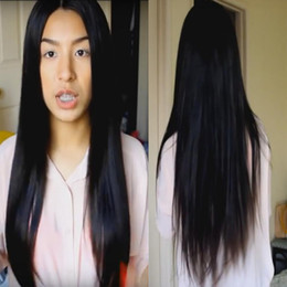 Long Straight Peruvian Full Lace Human Hair Wigs For Black Women 100 Unprocessed Glueless Full Lace Peruvian Hair Wig