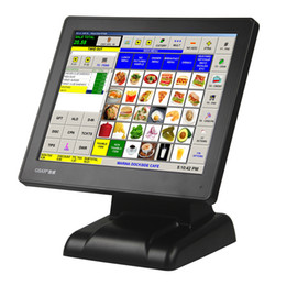 Wall-Mounted Touch Monitor for POS, Retail store, advertising, supermarket or resturant