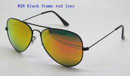 Gafas de sol de color rosa en Línea-Gafas de sol de diseñador para mujer para hombre de alta calidad Gafas de sol de piloto de oro marco de color rosa de cristal de espejo de color rosa lentes ópticas Mejores casos Brown