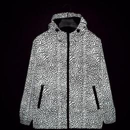 men 3m Jacket Camouflage clothes Zipper Sports coat Crack explosion jacket
