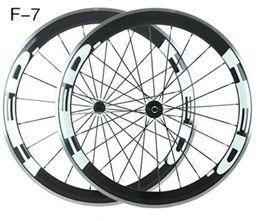 Wholesale 2016 HED carbon bike wheels MM alloy carbon wheelsets Aluminium alloy brake surface edge carbon wheels holes white HED letter
