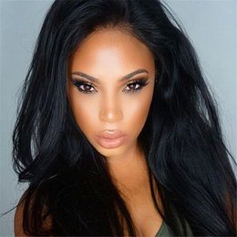 Best Glueless Full Lace human hair wigs&Lace Front human hair wigs 100% Brazilian human hair natural straight hair Free shipping