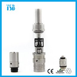 Wholesale Newest Atomizer S14 with ohm Coils and Japanese Organic Cotton Korea Ecig Brand Justfog China Distributor Organic Cotton Atomizer