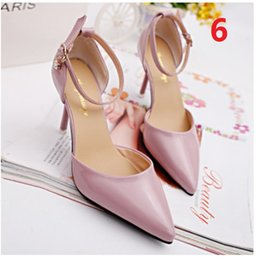Sexy Point Toe Patent High Heels Pumps Shoes 2016 Newest Woman's Red Sandals Heels Shoes 34-39 Size