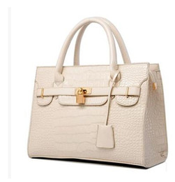 2017 Brand New Fashion Women's Handbag bag Purses PU Leather fashion Shoulder Bags lock Crocodile Handbag bag Messenger Bag
