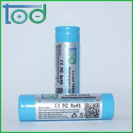 Factory directly sell TOD 18650 3.7V 2200 mAh Rechargeable Lithium Battery quality and quantity assured
