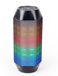 Wholesale Promotion US Popular Powerful passive Portable Bluetooth Speaker with LED Color Changing Lights from manufacturer with discount price