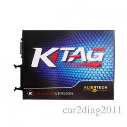 Wholesale V2 KTAG K TAG Firmware V6 ECU Programming Tool Master Version with Unlimited Token and ECM TITANIUM V1 for Free