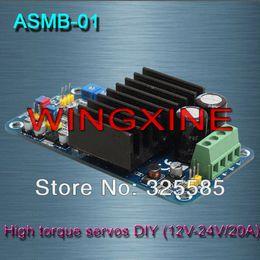 Wholesale ASMB channel high torque servo controller Servo DIY V V A N m Parts amp Accessories Cheap Parts amp Accessories