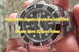 Wholesale Top Quality Men s Automatic Watch Sapphire Auto Date mm Black Ceramic Bezel Dial Men Dive AAA Watches