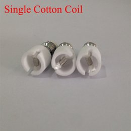 M6 Coil replacement Coil head for Bulb Glass Globe Atomizer Glass Tank Replacement Core Head for Dry Herb Wax glass dome Ceramic coil
