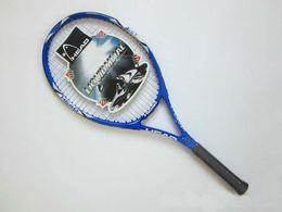 Wholesale Tennis Racket Racquet Racquets raquete de tennis Carbon Fiber Top Material tennis string