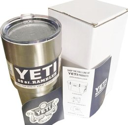 Wholesale Cheap Price Bilayer Stainless Steel Insulation Cup OZ OZ OZ YETI Cups Cars Beer Mug Large Capacity Mug Tumblerful Top quality