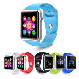 Wholesale Bluetooth Smart Watch A1 GT08 Wrist Watch Men Sport iwatch style watch for IOS Apple Android Samsung smartphone F BS