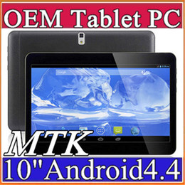 "Tablette 3g appel à vendre-10X 10 ""MTK6572 Dual Core MTK6582 Quad Core 1.2Ghz Android 4.4 WCDMA 3G tablette Phone Call bluetooth pc GPS Wifi double caméra 1GB 16GB A-10PB"