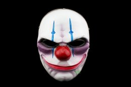 Halloween Accessories Horrible Clown Mask Payday2 Collector's Edition Resin Game Masks For House Party Free Shipping