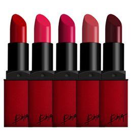 Wholesale cosmetics BBIA lipstick lip gloss velvet matte lipstick Long Lasting lipstick last RED series lipstick Matte from janet