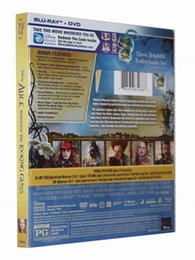 Wholesale Alice Through the Looking Glass Blu ray BD DVD Disc US Version DVD Boxset New great dvd