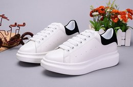2017 New Arrived Hot Sale Brand Genuine Leather White Women Fashion Sneakers White Men Shoes