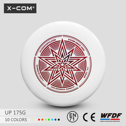 Wholesale X COM frisbee blank g ultimate flying disc frisbee custom logo frisbee disk for outdoor games