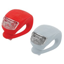 Solarstars LED Bicycle Light Clip-On Lights Safety warning lamp Bike tail light pack of 4 blue red black and red