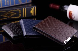 Wholesale European and American fashion personality new short wallet embossed cross men s casual zipper wallet Wallets
