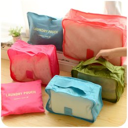 Wholesale Travel Waterproof Storage Bags Pouch Box Orangnizer For Underwear Swimsuit Bags For Storing Clothes Shoes Space Portfplio Cueca