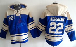 Wholesale Baseball jersey hoodie Los Angeles Dodgers Andre Ethier Adrian Gonzalez Clayton Kershaw Jackie Robinson name number Stiched