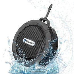 Wholesale C6 Outdoor Waterproof Wireless Bluetooth Speaker Support All Smartphones Portable Shockproof Mini Speakers With Retail Box