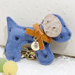 Wholesale Creative Novelty Leather Animal Keyrings Fashion Keychain Bag Charm For Women Girl Handbag Pendant Trinket Tassel Key Chain Ring