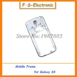 10pcs lot Silver Middle Frame Housing Case Replacement Part Bezel For Samsung Galaxy S4 I9500 I337 i9505