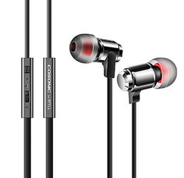 W3 Mobile Metal Bass Wired Ear Headphones Noise Cancelling headphone with mic For Iphone Tablet PC Smart Phone Brand New And High Quality