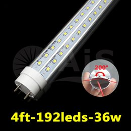 Wholesale T8 LED Tube Light W ft MM Epistar SMD2835 led PC LM AC85 V G13 socket LED Bulbs Tubes Good Product