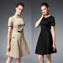 Wholesale Cheap Womens Party Clothes - Plus Size XXL European High-end Dresses For Womens Evening Wear Cheap Lady Clothes Top Fashion Formal Prom Party Dresses BC1120