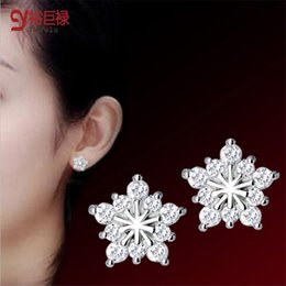 5pair lot 2016 Fashion New Arrival Women Rhinestone Star Earrings Pentacle Pendant Stud Earrings Female Pentacle Love Stud Earrings Female