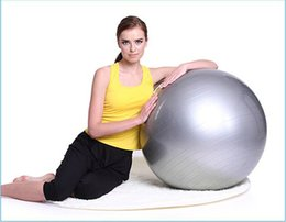 Wholesale-Fitness Exercise Swiss Gym Fit Yoga Core Ball 85 cm Abdominal Back leg Workout Gym Home Balance Exercise trainer Sport Fitball