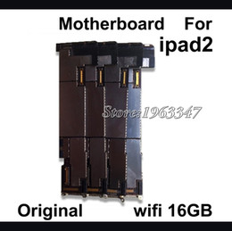 Wholesale-16GB 100% Original Motherboard For Ipad 2 Mainboard ,Unlocked WIFI Version Motherboard Logic Board Parts Replacement
