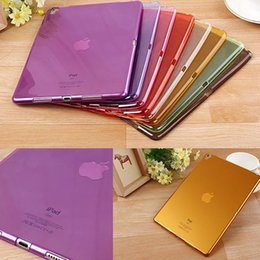 Wholesale Beautiful Colorful Candy Transparent soft TPU for Apple ipad pro inch ipadpro tablet Cover shell case coque