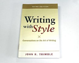Wholesale 2017 promotion books Writing with Style Conversations on the Art of Writing rd Edition
