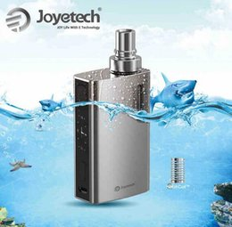 Wholesale 100 original Joytech egrip II kit tempertature control big smog with clock game function