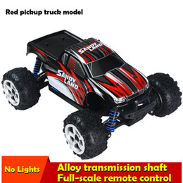 2016 Brinquedos Train Voitures Pixar Brand New Buggy Rc Car 40km / h High-Speed ​​Offroad Camion à grande échelle 4wd Truck Remote Control Bigfoot Baja à partir de fabricateur