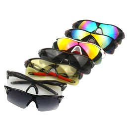 Wholesale-Windproof Men Women UV400 Cycling Glasses Outdoor Sport Mountain Bike MTB Bicycle Glasses Motorcycle Sunglasses Eyewear