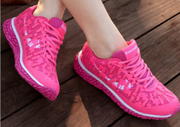 2016 Breathable Sport Shoes Woman Summer Light Running Shoes for Women Comfort Walking Shoes Casual Womens Sneakers Trainerssize 35-40
