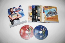 Wholesale Tony Horton Hot sale DVDS Exercise Fitness dvds Tony Horton s Minute Hard Corps Workout Program Base Kit