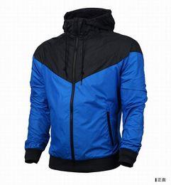 Sudadera .tracksuit venta en Línea-2016 venta del envío de los hombres de la chaqueta con capucha hombre nuevo otoño del resorte de las mujeres ropa deportiva rompevientos Coats sudadera chándal vgfbgfh