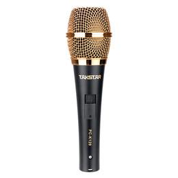 2017 la grabación de música de la pc Pro Takstar PC-K120 de alta calidad de la grabación del condensador del micrófono Música Profesional Estudio de micrófono con cable y caja al por menor la grabación de música de la pc baratos