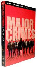 Wholesale Major Crimes Season Five Disc US Version New DHL