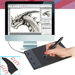 Wholesale HUION H420 quot x quot USB Art Design Graphics Drawing Tablet with Digital Pen Gift